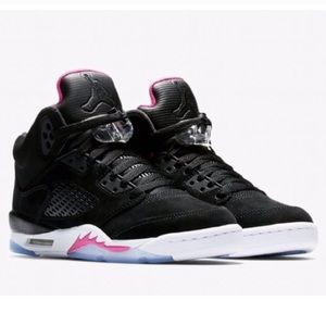 Nike Air Jordan retro 5 shoes women's size 8